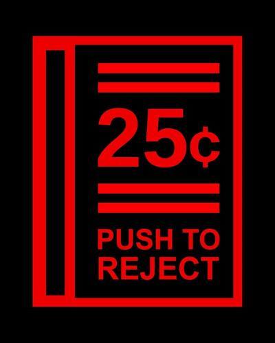 Push To Reject-Color Me Happy-Art Print