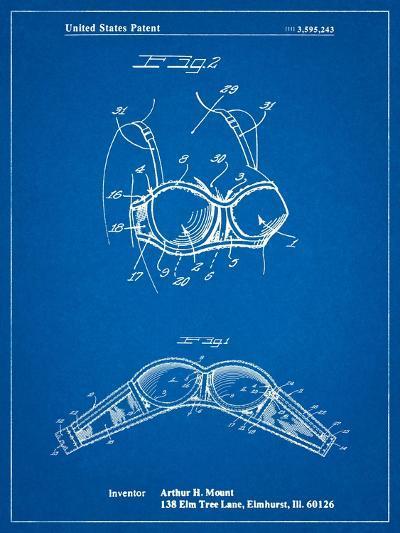 Push-Up Bra Patent-Cole Borders-Art Print