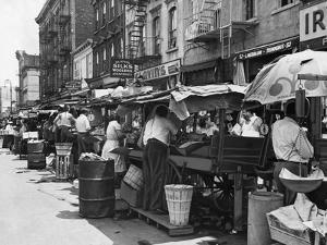 Pushcart Market, 1939
