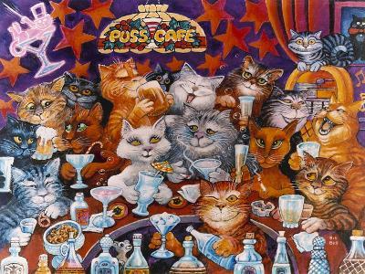 Puss Cafe-Bill Bell-Giclee Print
