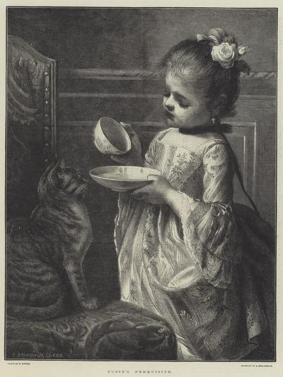 Pussy's Perquisite--Giclee Print