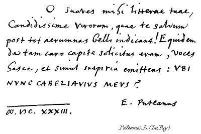 Puteanus, E--Giclee Print
