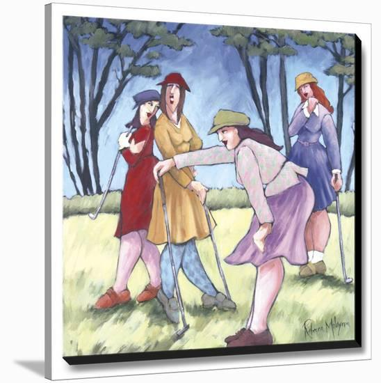 Putting-Molayem Rebecca-Stretched Canvas Print