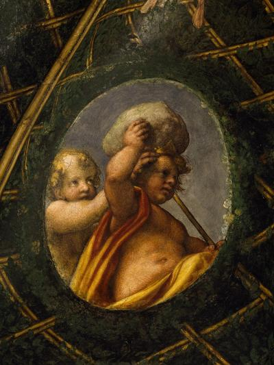 Puttoes, Detail from the Frescoed Vault, 1518-1519-Antonio Allegri Da Correggio-Giclee Print