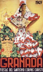 Granada Fiestas Del Santisimo Corpus Christi Poste by Puya