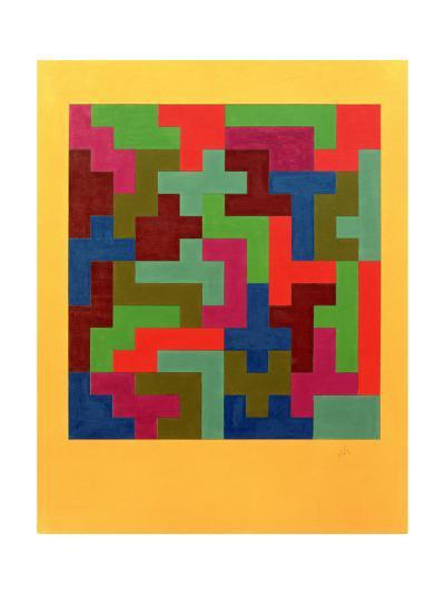 Puzzle II, 1988-Peter McClure-Giclee Print