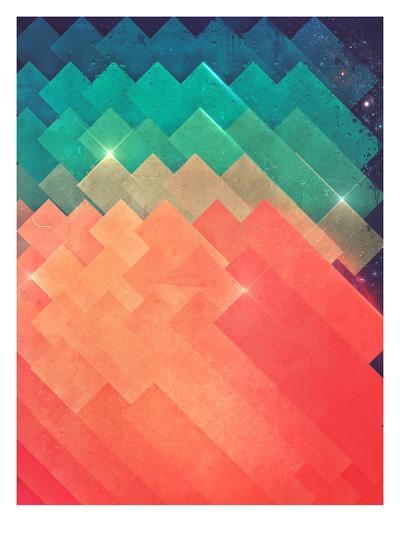 pwwr thyng-Spires-Art Print