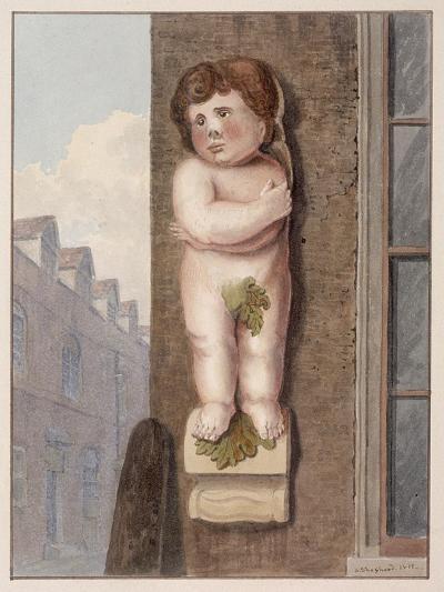 Pye Corner, London, 1812-George Shepheard-Giclee Print