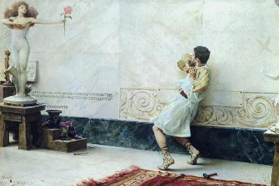Pygmalion and Galatea, 1896-Giulio Bargellini-Giclee Print