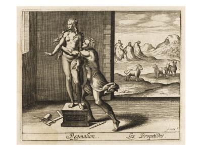 Pygmalion and Statue--Giclee Print