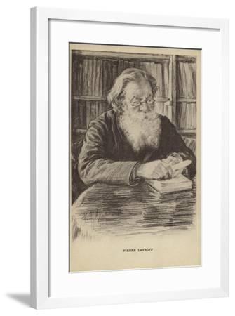 Pyotr Lavrov, Russian Philosopher--Framed Giclee Print