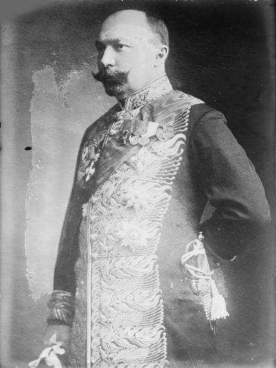 Pyotr Lvovich Bark (1869-193), C. 1916--Giclee Print