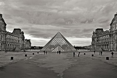 Pyramid at the Louvre I-Rita Crane-Photographic Print