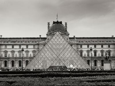 Pyramid at the Louvre II-Rita Crane-Photographic Print