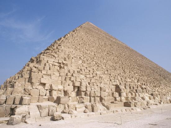 Pyramid of Cheops, Giza, Unesco World Heritage Site, Near Cairo, Egypt, North Africa, Africa-Nico Tondini-Photographic Print