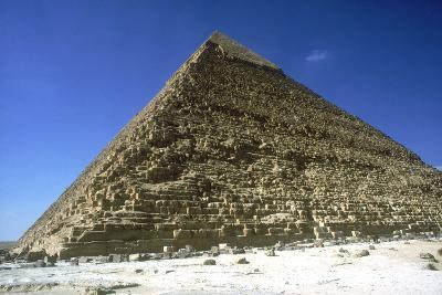 Pyramid of Khafre (Chephren), Giza, Egypt, 4th Dynasty, 26th Century Bc-CM Dixon-Photographic Print