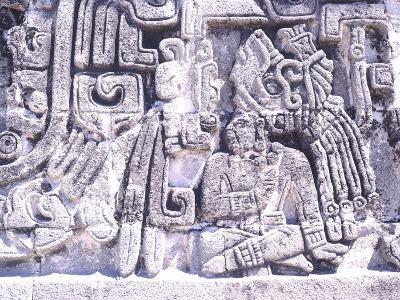 Pyramid of Snakes in Xochicalco--Photographic Print