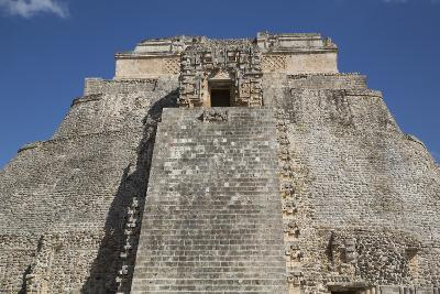 Pyramid of the Magician, Uxmal, Mayan Archaeological Site, Yucatan, Mexico, North America-Richard Maschmeyer-Photographic Print