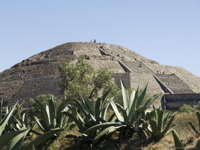 Pyramid of the Moon, Teotihuacan, 150Ad to 600Ad and Later Used by the Aztecs, North of Mexico City-R H Productions-Photographic Print