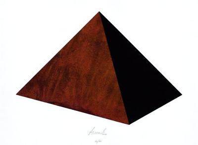 Pyramide Rost Schwarz-Juergen Freund-Limited Edition