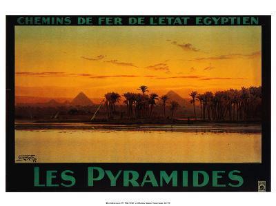 Pyramides-M^ Tamplough-Art Print