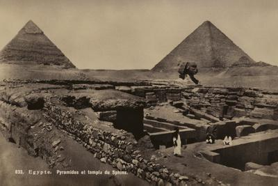 Pyramids and Temple of the Sphinx, Giza, Egypt--Photographic Print