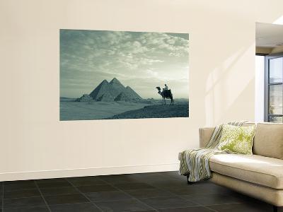 Pyramids, Giza, Egypt-Steve Vidler-Giant Art Print
