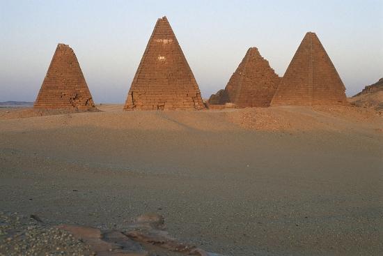 Pyramids of Black Pharaohs, Gebel Barkal and Sites of Napatan Region--Photographic Print