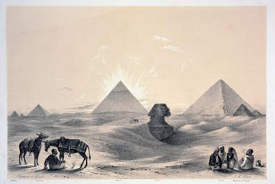 Pyramids of Giza, 1843-Augustus Butler-Giclee Print