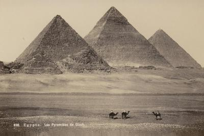 Pyramids of Giza, Egypt--Photographic Print