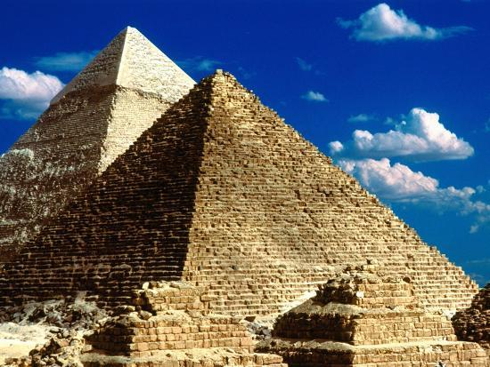 Pyramids of Giza-Larry Lee-Photographic Print