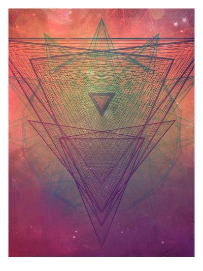 pyrymyd xrayyll-Spires-Art Print