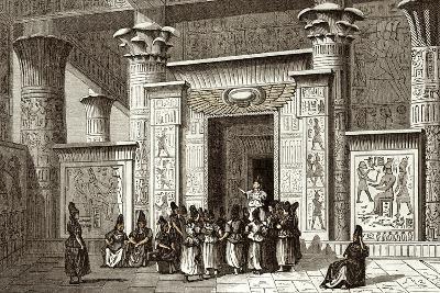Pythagoras And Egyptian Priests-Sheila Terry-Photographic Print