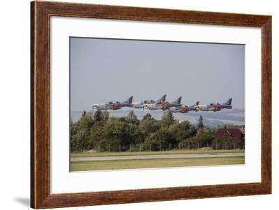 Pzl-130 Orlik Trainers of the Polish Air Force-Stocktrek Images-Framed Photographic Print