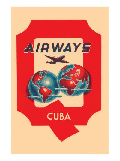 Q Airways Cuba--Art Print