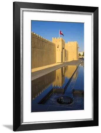 Qasr Al Muwaiji, Al Ain, Abu Dhabi, United Arab Emirates, Middle East-Jane Sweeney-Framed Photographic Print