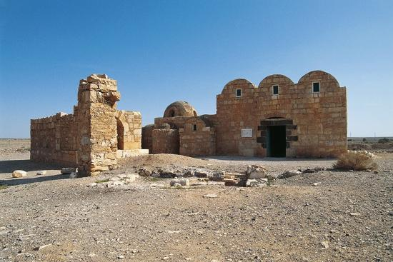 Qasr Amra or Qusayr Amra Desert Castle (Unesco World Heritage List--Photographic Print