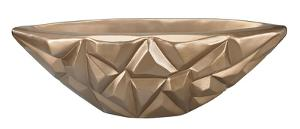 Qattara 10-Inch Bowl In Champagne Gold