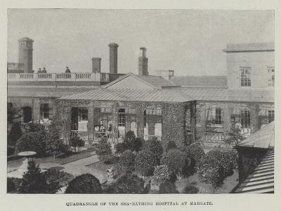 Quadrangle of the Sea-Bathing Hospital at Margate--Giclee Print