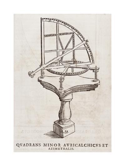 Quadrans Minor Avrichalchicus Et Azimuthalis--Giclee Print
