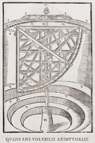 Quadrans Volubilis Azimuthalis--Giclee Print