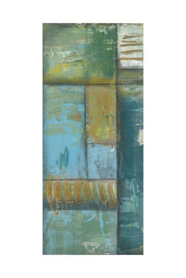 Quadrant Overlay I-Jennifer Goldberger-Art Print