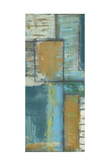 Quadrant Overlay II-Jennifer Goldberger-Art Print