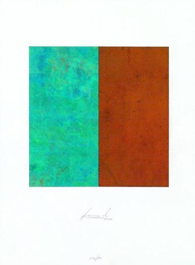 Quadrat Rost Gruenspan-Juergen Freund-Limited Edition