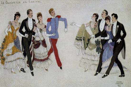 Quadrille, France--Giclee Print