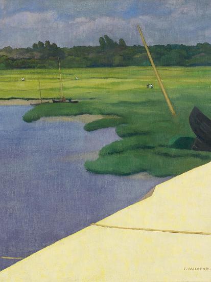 Quai de Berville, 1918-F?lix Vallotton-Giclee Print