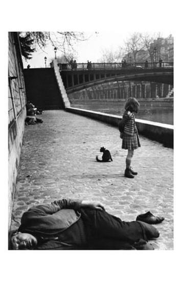 Quai de Montebello, c.1951-Izis-Art Print