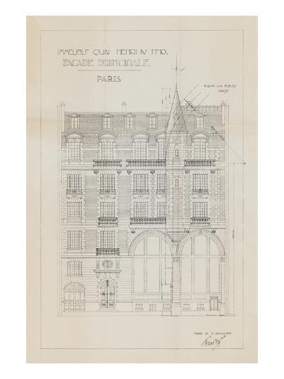 Quai Henri I-Hugo Wild-Art Print