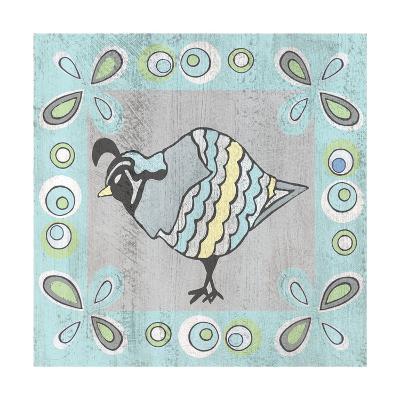 Quail 1-Shanni Welsh-Art Print