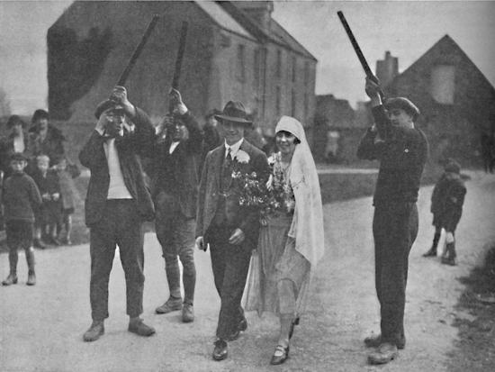 'Quaint Pagan Superstitions That Stilll Survive in Holy Island', c1935-Unknown-Photographic Print